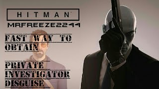 In this mini series we'll be doing short videos on how to obtain the most elusive disguises in the game as fast as possible. In this episode we'll be covering The Private Investigator Sal Falcone disguise in SapienzaFull credit to GuLe for this strategy:https://www.youtube.com/user/gule18Full playlist Fast Way To Obtain Series: https://www.youtube.com/playlist?list=PLdeeW1xZ0DlPRjZzcpl6tc1H30m9jLcMK :Drop a like if you enjoyed this episode and want to support this series. Subscribe if you're new to the channel for more episodes. Thank you very much for watching and i'll see you in the next video, cheers :)To support the channel become a patron:https://youtu.be/y5L8velWHGwClick the link for more info regarding donating to me and supporting the channel to help me get the equipment i need to make content covering older hitman series and splinter cell series:http://www.patreon.com/MrFreeze2244Current Patrons:Timothy PhanMartin HolasPlayerx54Bobby ZhouKevin SaintDavid ParrottBlueCraneKing OsirisEddie ShanksTom FennessyPhillipe LesquinRodney MooreChris MartinBishop NelsonTim TimsenRay DukeMiles WeaverBerian WilliamsJonathan PletschMatt JaggermouthSean RubinNick TaylorEric HugginsPeter BlightanKomiChameleonNicholas ReinBrianHarnaam JandooWeisha LuiSpeedyRunner214Sylvestor ValensSilke KarnerTrickyTravis KessingerAndrew ZhangJoshua CollinsSam (Snake SDR)Rachel van der Meer (Miss Stubby)Follow me on Twitter: http://www.twitter.com/MrFreeze2244Join my new Discord server:https://discord.gg/x7eM5VyFollow me on Twitch:http://twitch.tv/MrFreeze2244Add me on PSN: freeze2244 or Mr-Freeze-2244