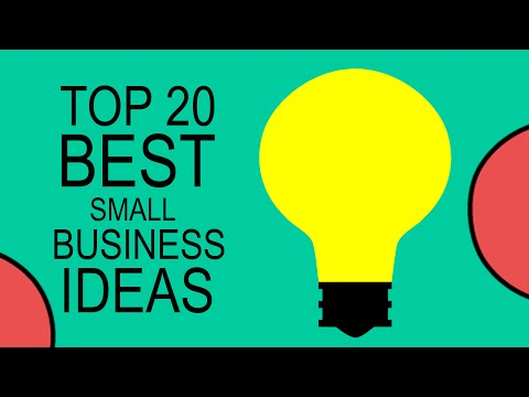 Top 20 Best Small Business Ideas for Beginners in 2017