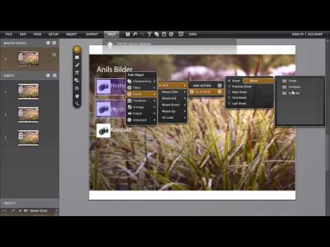 Adobe ROME tutorial – Professionelle Flash Website erstellen