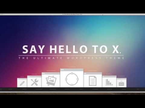X – The Best WordPress Theme Ever Made? (Review)