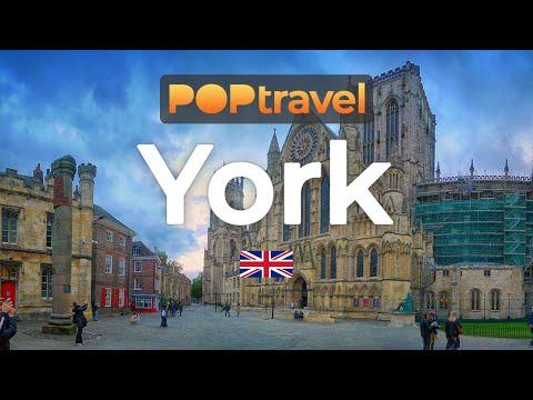 Walking in YORK / England (UK) 🇬🇧- 4K 60fps (UHD)