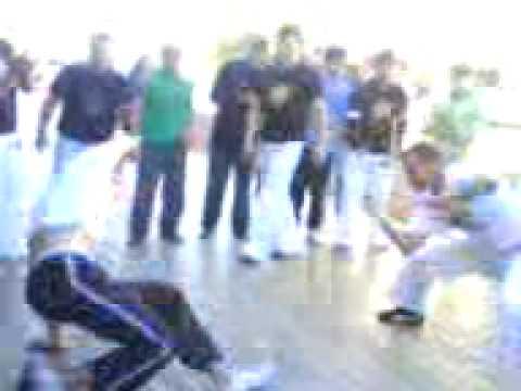 Roda de capoeira em Campo Erê Grupo Geração Sul