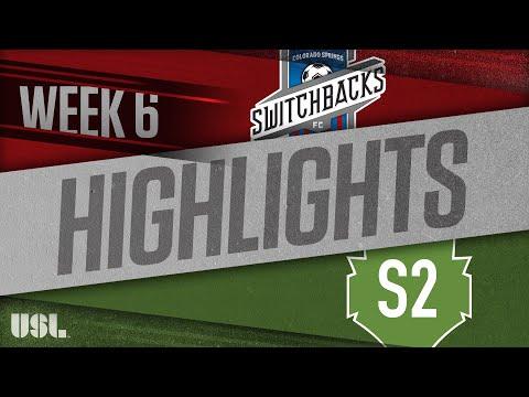 Колорадо Спрингс - Seattle 2 0:0. Видеообзор матча 22.04.2018. Видео голов и опасных моментов игры