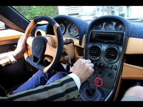 Noble M600 - During the Top Marques Monaco 2013, I had the chance to do a ride of 35 minutes in this exclusiv Noble M600 through Monaco. As every year, Noble was present ...