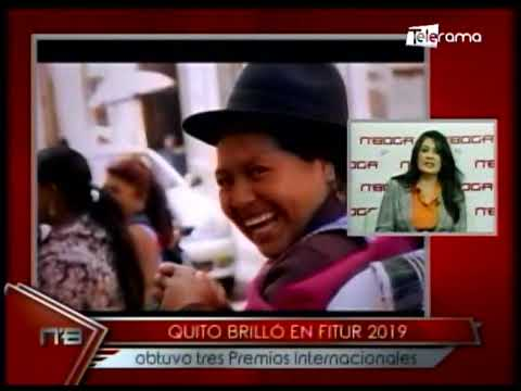 Quito brilló en Fitur 2019 obtuvo tres premios integracionales
