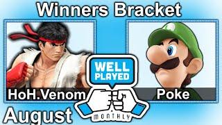 HoH.Venom vs Poke – Poke's Luigi sacred combo @ 2:23