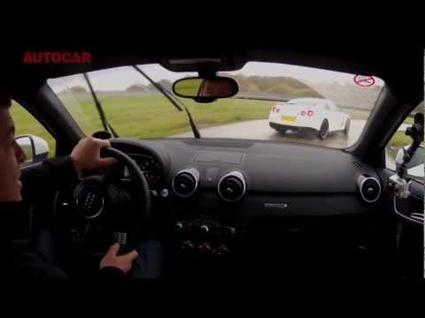 Can the Audi A1 Quattro Keep Up With the Nissan GT-R? [Video]