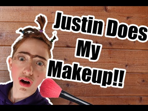 Justine Does My Makeup!!