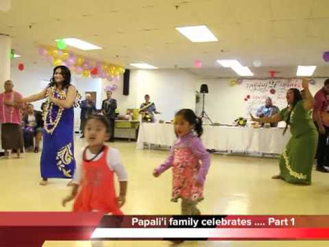 Papali'i family celebrates 21st ...