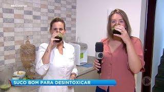 Suco detox é a opção para quem abusou das comidas no final de ano