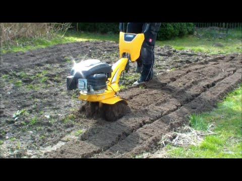 Gartenhacke Stiga im Einsatz Selbstversorger / SelberMacher [HD] Tutorial DiY