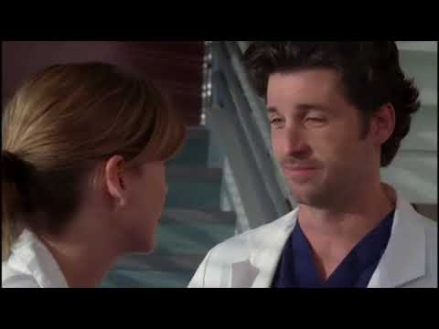 Derek e Meredith (MerDer) - Primeiro episódio - Dublado - Greys Anatomy