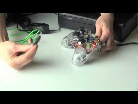 headset set up - How to set up your Afterglow Wired Headset to the Xbox 360. For more information please visit www.AfterglowGaming.com 'Like' Afterglow on Facebook: http://ww...