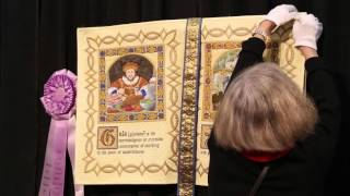 Houston Quilt Festival 2013 - World of Beauty Winner Christine Alexiou