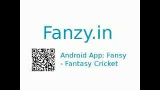 Fantasy Cricket YouTube video