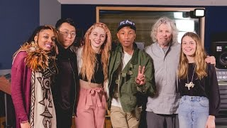 Video Pharrell Williams Masterclass with Students at NYU Clive Davis Institute MP3, 3GP, MP4, WEBM, AVI, FLV November 2018