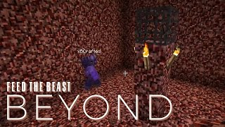 FTB Beyond w/ xB - WITHER SKELETON FARM [E19] (Modded Minecraft)