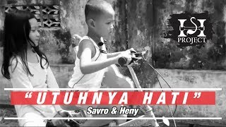 UTUHNYA HATI the wedding song (Official Video Clip) - Savro & Heny [shproject] adopsi Novel Savro