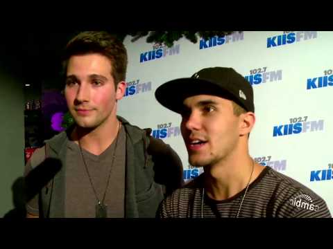 Big Time Rush Stars Carlos Pena and James Maslow Share Their Workout Tips!