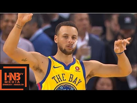 Golden State Warriors vs San Antonio Spurs 1st Qtr Highlights / March 8 / 2017-18 NBA Season (видео)
