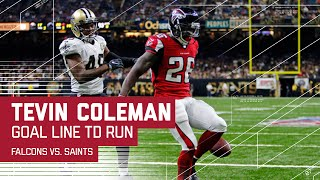 Matt Ryan, Tevin Coleman & Devonta Freeman Guide Falcons to TD! | Falcons vs. Saints | NFL by NFL