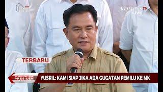 Video [TERBARU] Yusril: Kubu Jokowi-Maruf Siap Melayani Gugatan BPN di MK MP3, 3GP, MP4, WEBM, AVI, FLV Juni 2019