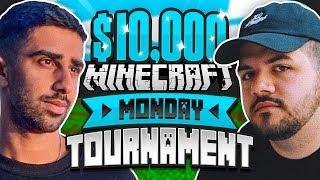 $10,000 MINECRAFT Monday Tournament w/ COURAGEJD (Week 12)