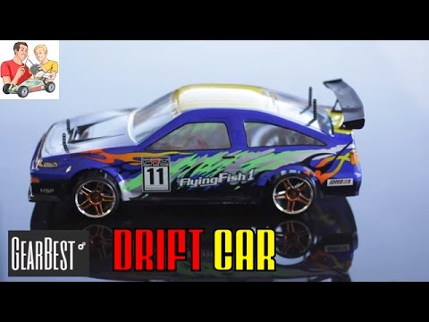 Thinking of buying an RC  drift car? We tested this one from Gearbest.