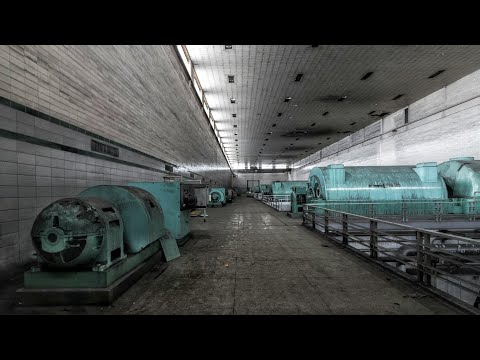 Newly Abandoned Nuclear Power Plant - 3 Control Rooms/Underground Exploring