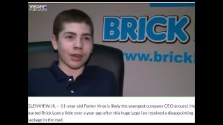 Brick Loot KID CEO interviewed by Chicago WGN