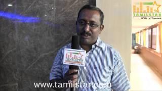 Senthil Kumar Speaks at Sandiyar Movie Press Meet