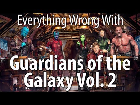 Everything Wrong With Guardians of the Galaxy Vol. 2:  Get started snacking healthy today: http://naturebox.com/cinemasins In honor of Marvel's Thor: Ragnorok, we decided to go looking for sins in the studio's most-fun franchise... Guardians of the Galaxy Vol. 2. We found some, of course, as we are wont to do. But it's not a terrible movie. Thursday: Recent-ish comedy sins.Remember, no movie is without sin! Which movie's sins should we expose next?!Podcast: http://soundcloud.com/cinemasinsSins Video Playlist: http://ascendents.net/?v=wy-v4c4is-w&list=PLMWfZxj1nTkQBy4AeRGG4xH5d2IIApNPjTweet us: http://twitter.com/cinemasinsReddit with us: http://reddit.com/r/cinemasinsTumble us: http://cinema-sins.tumblr.comCall us: 405-459-7466Jeremy's book: http://theablesbook.com