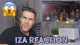 image of IZA - PESADÃO (PARTICIPAÇÃO ESPECIAL MARCELO FALCÃO)  -  REACTION (Reação de um Portuga) 😱