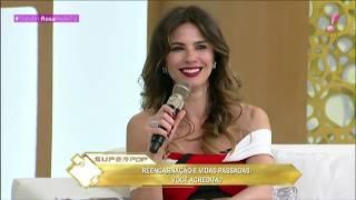 Programa Superpop com Luciana Gimenez e Márcia Fernandes falando sobre Vidas Passadas - 08/10/2018