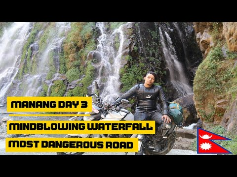 Sangey To Humde || Most Adventurous Road Of Nepal || Way To Manang Tilicho Lake || A Uncomplete Ride