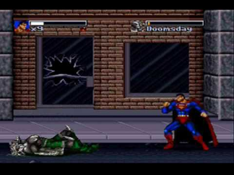 preview-Death & Return Of Superman Game Review (Snes/Gen)