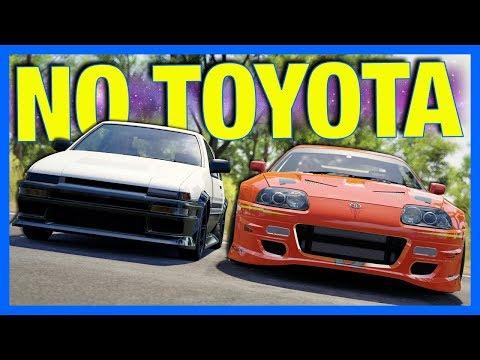 Forza Motorsport 7 : Goodbye Toyota.