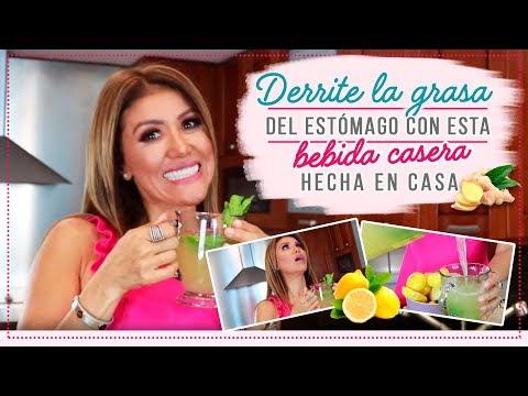 Dieta para bajar de peso - Derrite la grasa de tu estomago con esta bebida hecha en casa