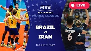 Brazil v Iran - Group 1: 2016 FIVB Volleyball World League