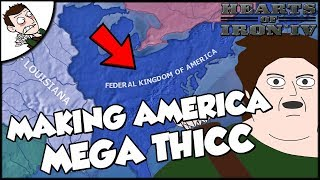 Video Trying to Make America Mega Thicc Hearts of Iron 4 HOI4 Mod Gameplay MP3, 3GP, MP4, WEBM, AVI, FLV Maret 2018