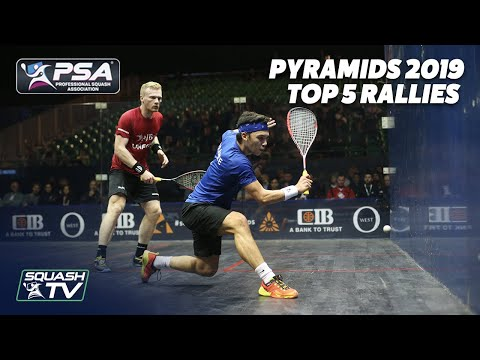 Squash By The Pyramids 2019 - Top 5 Rallies