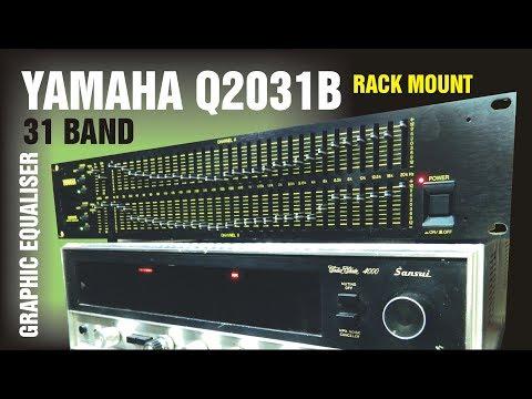 YAMAHA Q2031B RACK MOUNT 31 BAND GRAPHIC EQUALISER
