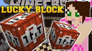 Minecraft: TNT LUCKY BLOCK (EXPLODING STRUCTRES, TNT WEAPONS, & MORE!) Mod Showcase