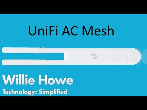 UniFi AC Mesh Unboxing and Adoption