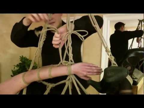 Fesselzeit: Teil 15 - Strappado Hogtie Suspension (видео)