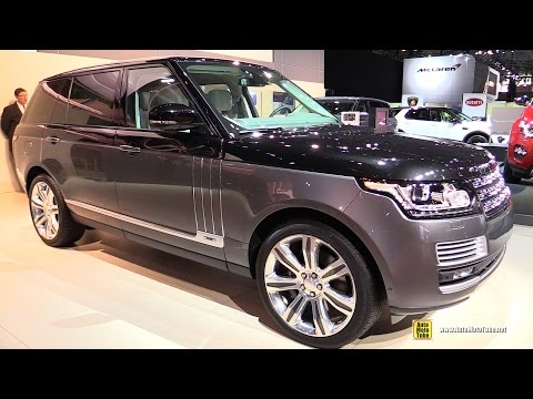 range rover svo autobiography - exterior and interior walkaround