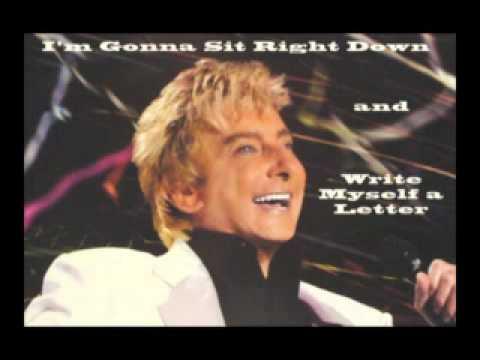 Tekst piosenki Barry Manilow - I'm Gonna Sit Right Down and Write Myself a Letter po polsku