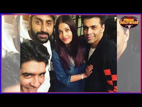 Abhishek Bachchan Gets Aishwarya's Inappropriate