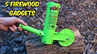 Video 5 Firewood Gadgets put to the Test MP3, 3GP, MP4, WEBM, AVI, FLV Maret 2018