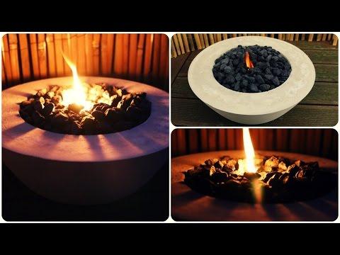 Feuerschale Beton * DIY * Concrete Fire Bowl [eng sub]